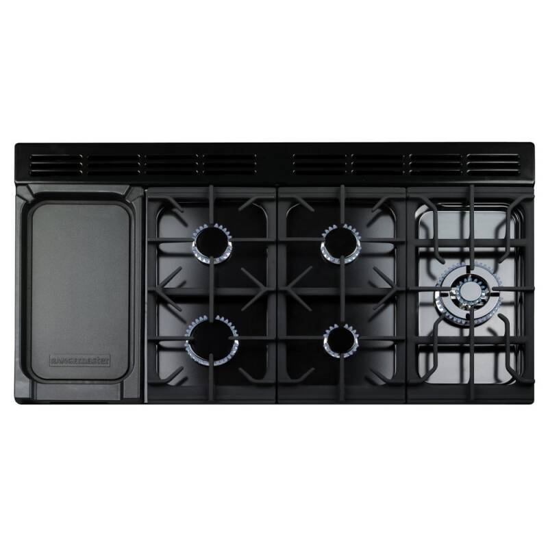 Rangemaster CDL110DFFCR/C Classic Deluxe 110 FSD Dual Fuel - Cream/Chrome - CDL110DFFCR/C additional image 1