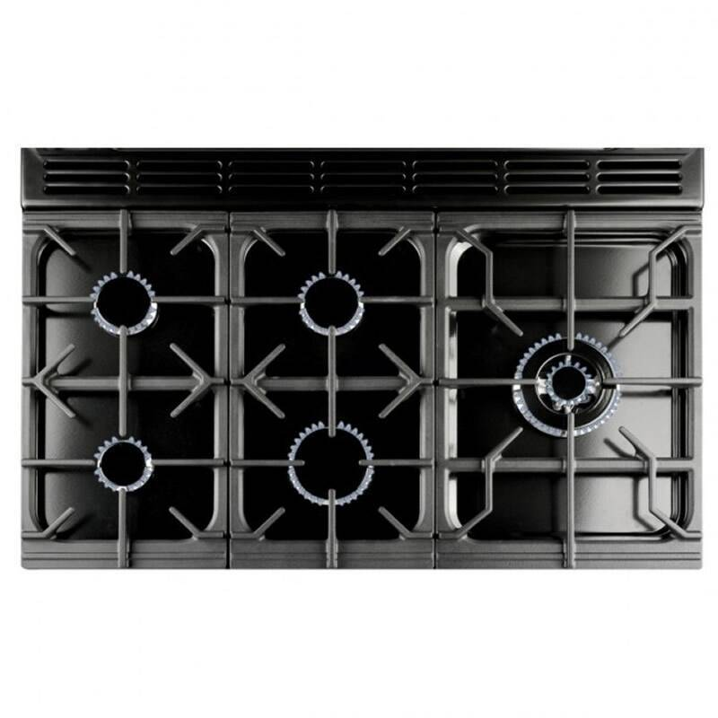 Rangemaster CDL90DFFCR/C Classic Deluxe 90 Dual Fuel FSD - Cream/Chrome - CDL90DFFCR/C additional image 1
