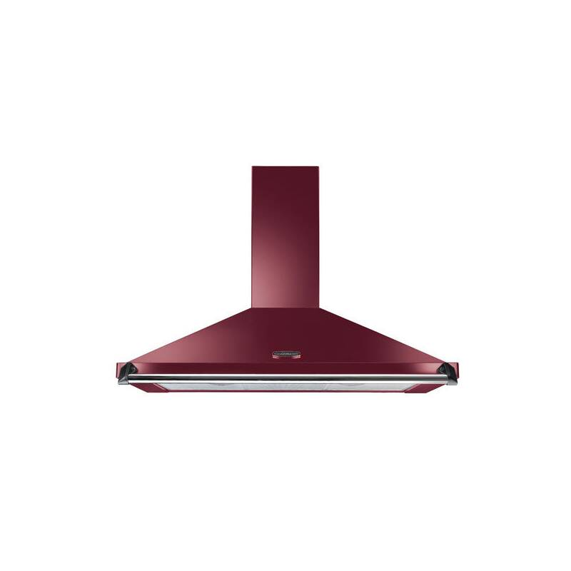 Rangemaster CLAHDC110CY/C Classic 1100mm Chimney Cooker Hood - Cranberry - CLAHDC110CY/C primary image