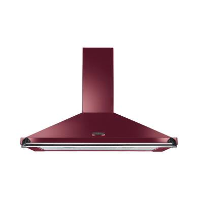 Rangemaster Classic Chimney Cooker Hood 1000mm - cranberry