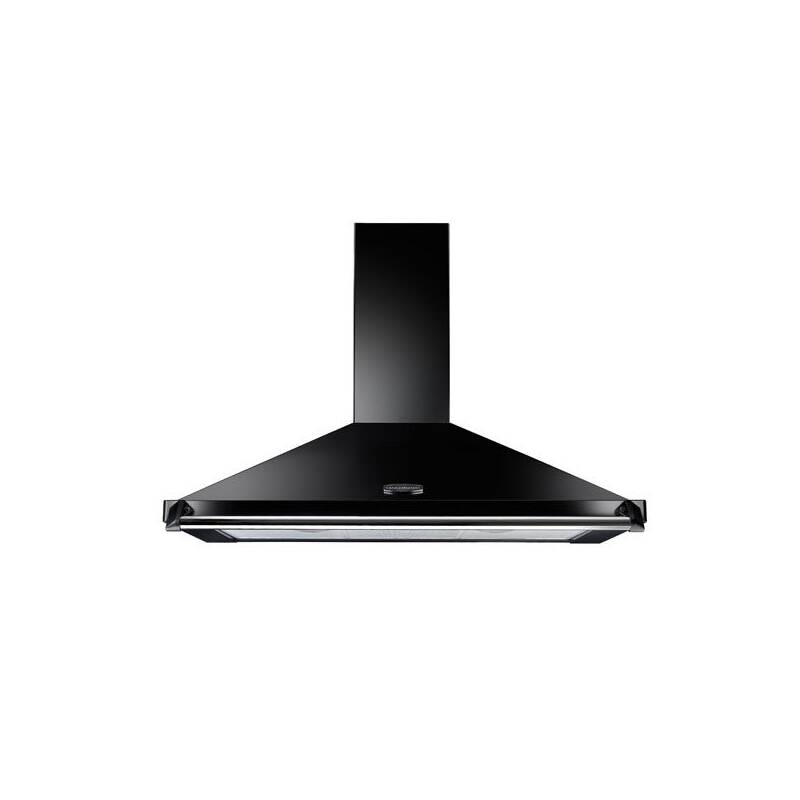 Rangemaster Classic Chimney Cooker Hood 1100mm - Black primary image