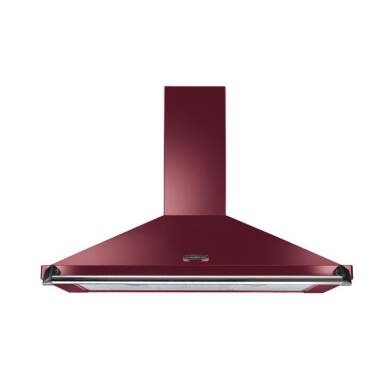 Rangemaster Classic Chimney Cooker Hood - Cranberry 1100mm