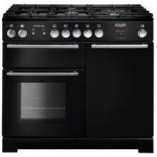 Rangemaster Infusion 100cm Dual Fuel Range Cooker - Black