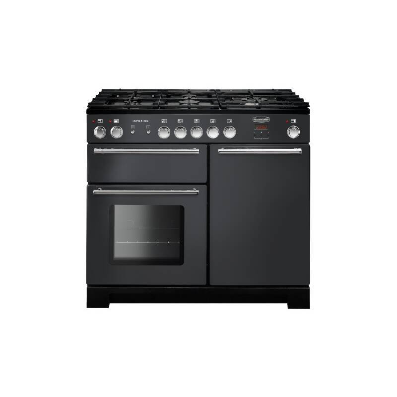 Rangemaster Infusion 100cm Dual Fuel Range Cooker - Slate primary image