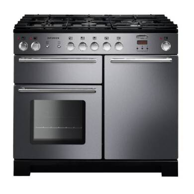 Rangemaster Infusion 100cm Dual Fuel Range Cooker - Stainless Steel