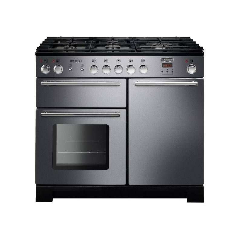 Rangemaster Infusion 100cm Dual Fuel Range Cooker - Stainless Steel primary image