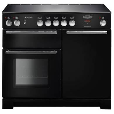 Rangemaster Infusion 100cm Induction Range Cooker - Black