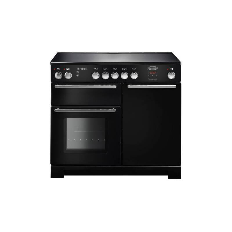 Rangemaster Infusion 100cm Induction Range Cooker - Black primary image