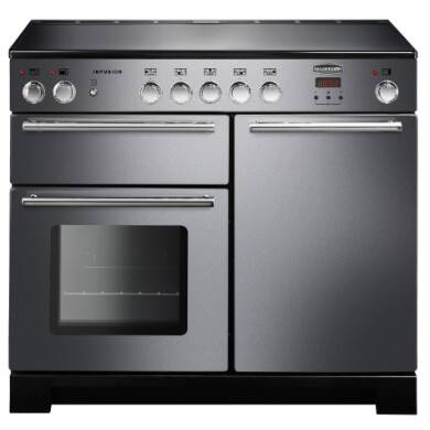 Rangemaster Infusion 100cm Induction Range Cooker - Stainless Steel