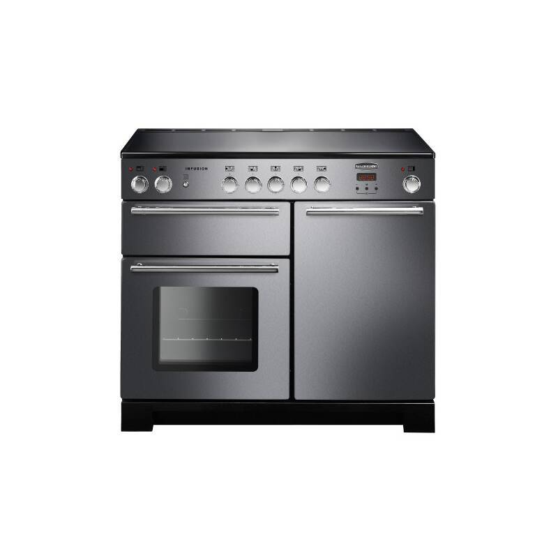 Rangemaster Infusion 100cm Induction Range Cooker - Stainless Steel primary image