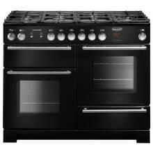 Rangemaster Infusion 110cm Dual Fuel Range Cooker - Black