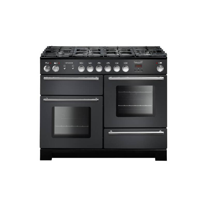 Rangemaster Infusion 110cm Dual Fuel Range Cooker - Slate primary image