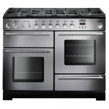 Rangemaster Infusion 110cm Dual Fuel Range Cooker - Stainless Steel