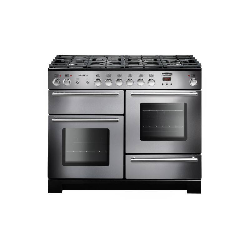 Rangemaster Infusion 110cm Dual Fuel Range Cooker - Stainless Steel primary image