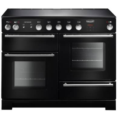 Rangemaster Infusion 110cm Induction Range Cooker - Black