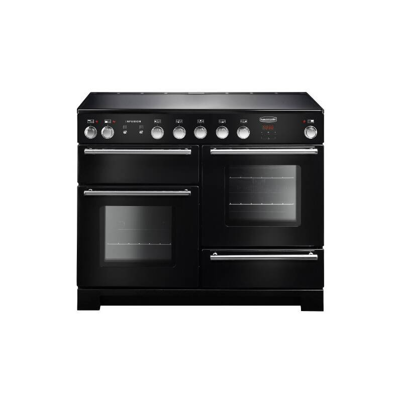 Rangemaster Infusion 110cm Induction Range Cooker - Black primary image