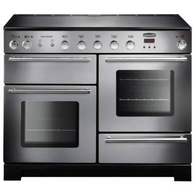 Rangemaster Infusion 110cm Induction Range Cooker - Stainless Steel