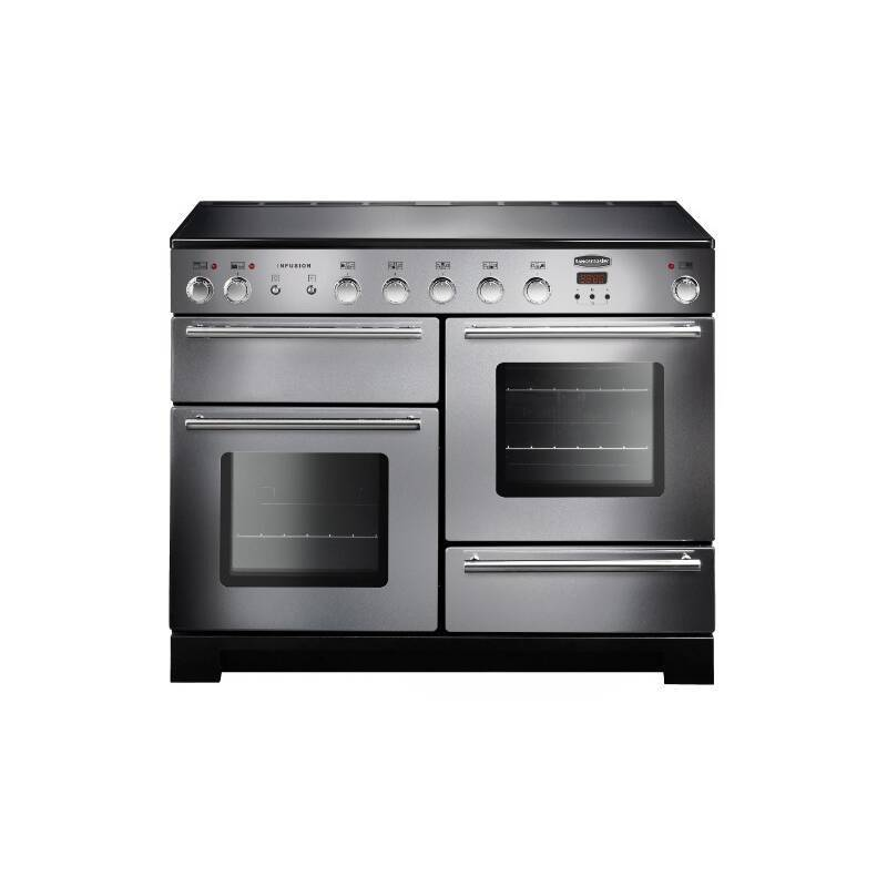 Rangemaster Infusion 110cm Induction Range Cooker - Stainless Steel primary image