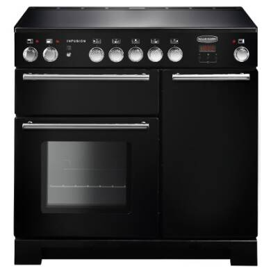 Rangemaster Infusion 90cm Induction Range Cooker - Black