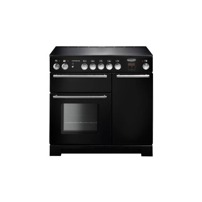 Rangemaster Infusion 90cm Induction Range Cooker - Black primary image