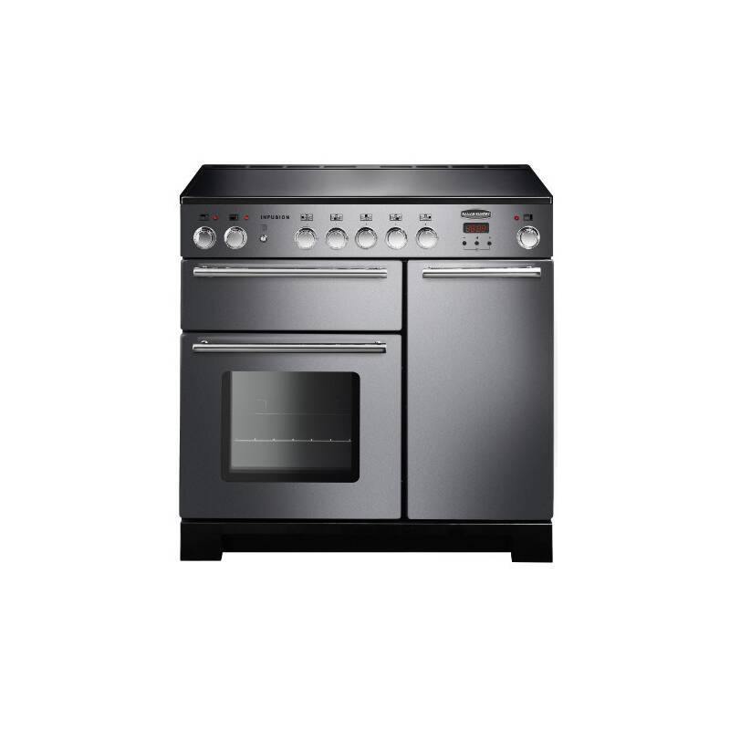 Rangemaster Infusion 90cm Induction Range Cooker - Stainless Steel primary image