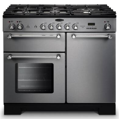 Rangemaster Kitchener 100 Dual Fuel - Stainless Steel