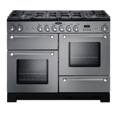 Rangemaster Kitchener 110 Dual Fuel - Stainless Steel