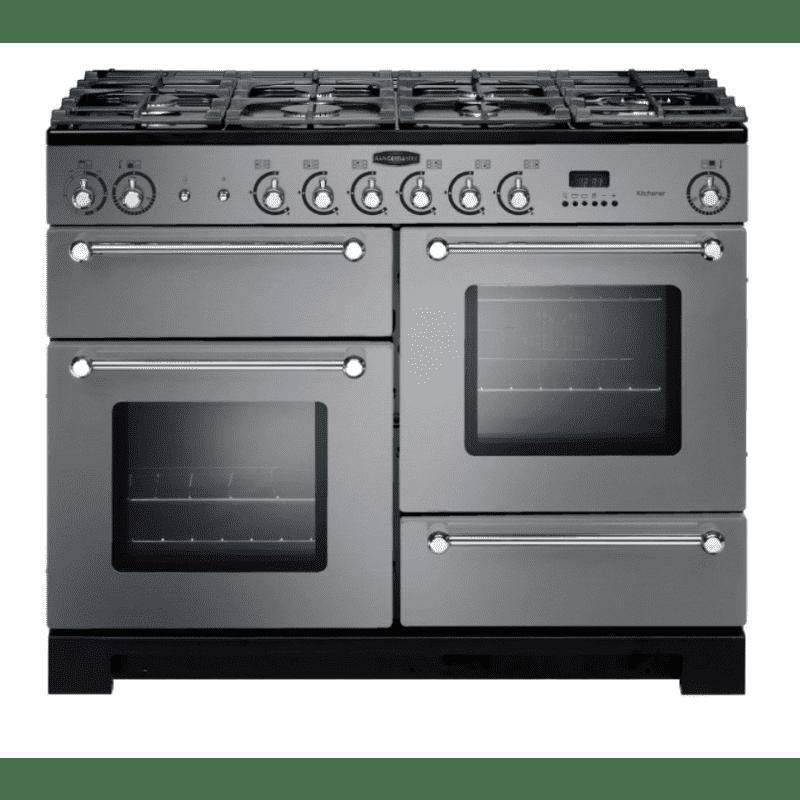 Rangemaster Kitchener 110 Dual Fuel - Stainless Steel primary image