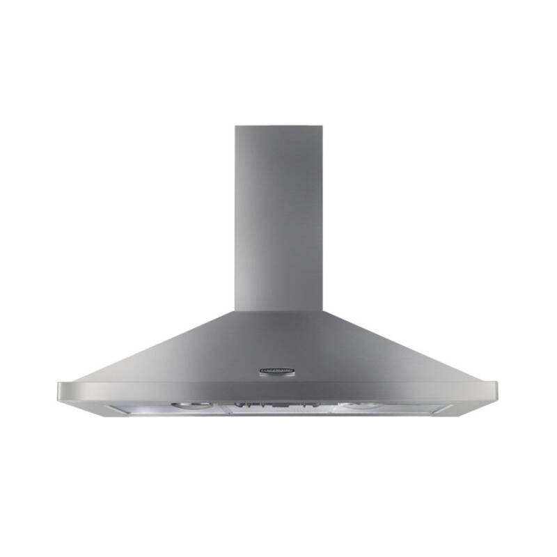 Rangemaster LEIHDC100SS/C 1000mm Chimney Cooker Hood - Stainless Steel - LEIHDC100SS/C primary image