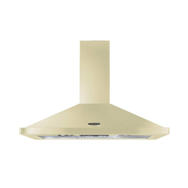 Rangemaster LEIHDC110CR/C 110cm Chimney Cooker Hood - Cream Chrome - LEIHDC110CR/C primary image
