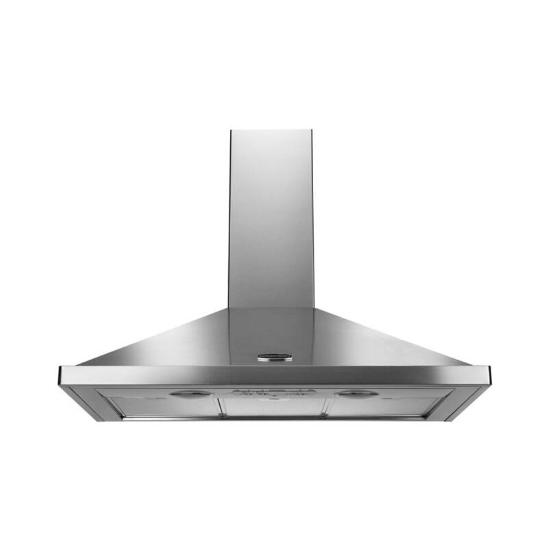 Rangemaster LEIHDC90SC 900mm Chimney Cooker Hood - Stainless Steel (No Rail) - LEIHDC90SC/ primary image