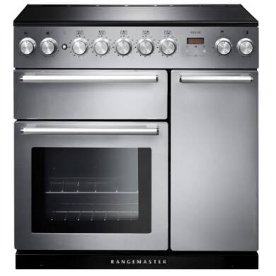 Rangemaster Nexus 90cm Induction Range Cooker - NEX90EISS/C