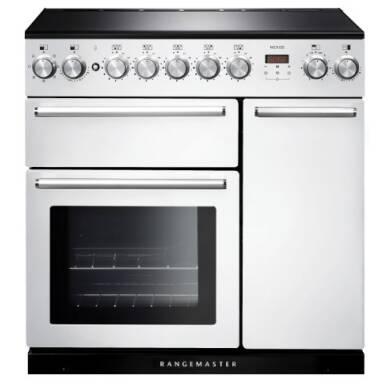 Rangemaster Nexus NEX90EIWH/C 90cm Electric Range Cooker