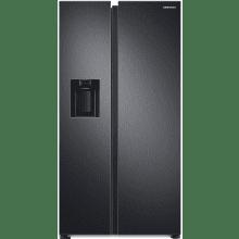 Samsung H1780xW912xD716 American Style Fridge Freezer - RS68A8530B1/EU - Black