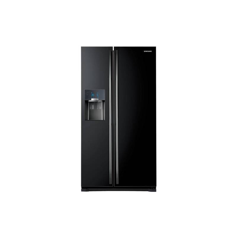 Samsung H1789xW912xD754 Gloss Black Side by Side Fridge Freezer - RS7567BHCBC/EU primary image