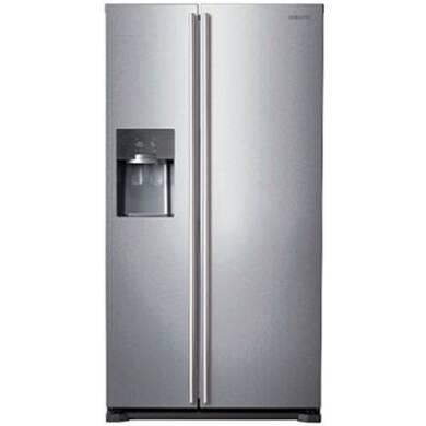 Samsung H1789xW912xD754 Silver Side by Side Fridge Freezer - RS7567BHCSP/EU
