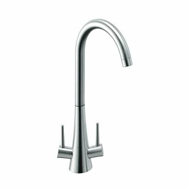 Spirex Tap Brushed Steel - High/Low Pressure