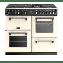 Stoves Richmond Deluxe 100cm Dual Fuel Range Cooker - Cream