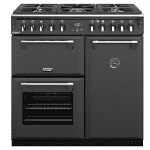 Stoves Richmond Deluxe 90cm Duel Fuel Range Cooker - Anthracite