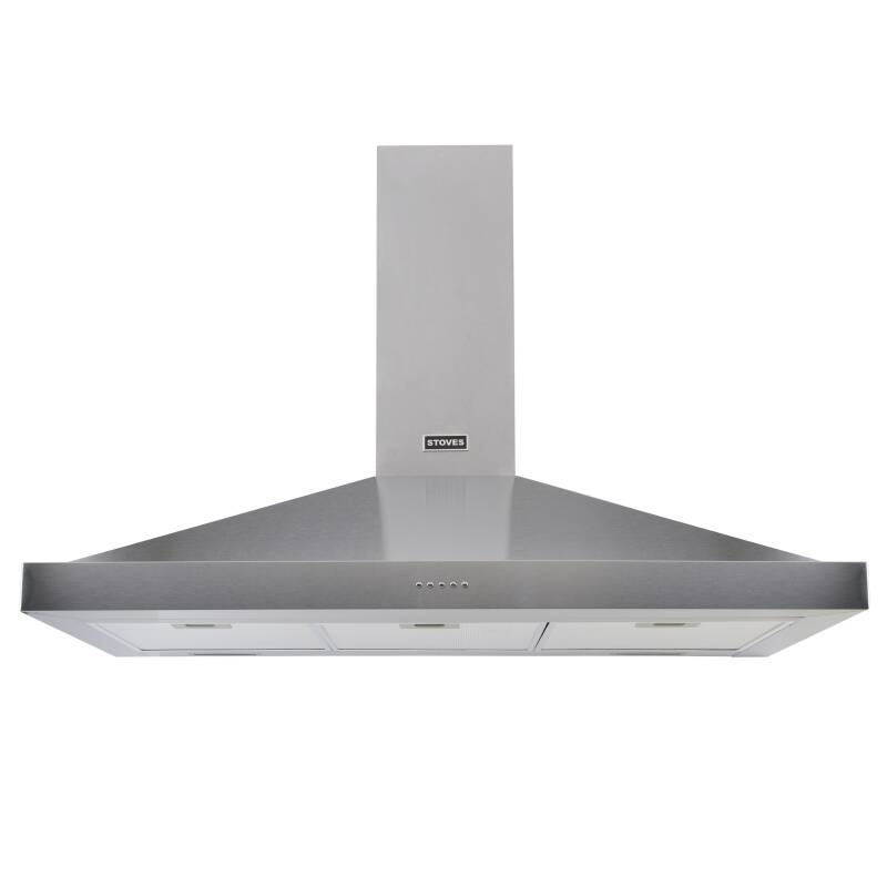 Stoves Sterling 100cm Chimney Hood - Stainless Steel primary image