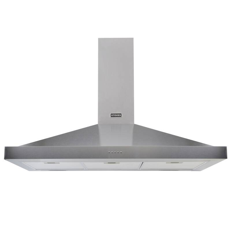 Stoves Sterling 110cm Chimney Hood - Stainless Steel primary image