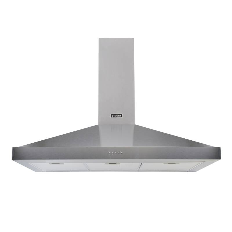 Stoves Sterling 90cm Chimney Hood - Stainless Steel primary image