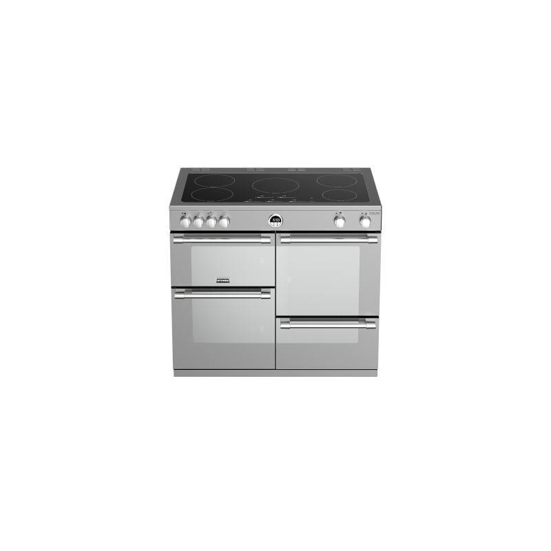 Stoves Sterling Deluxe 100cm Electric Induction Range Cooker - Stainless Steel additional image 1