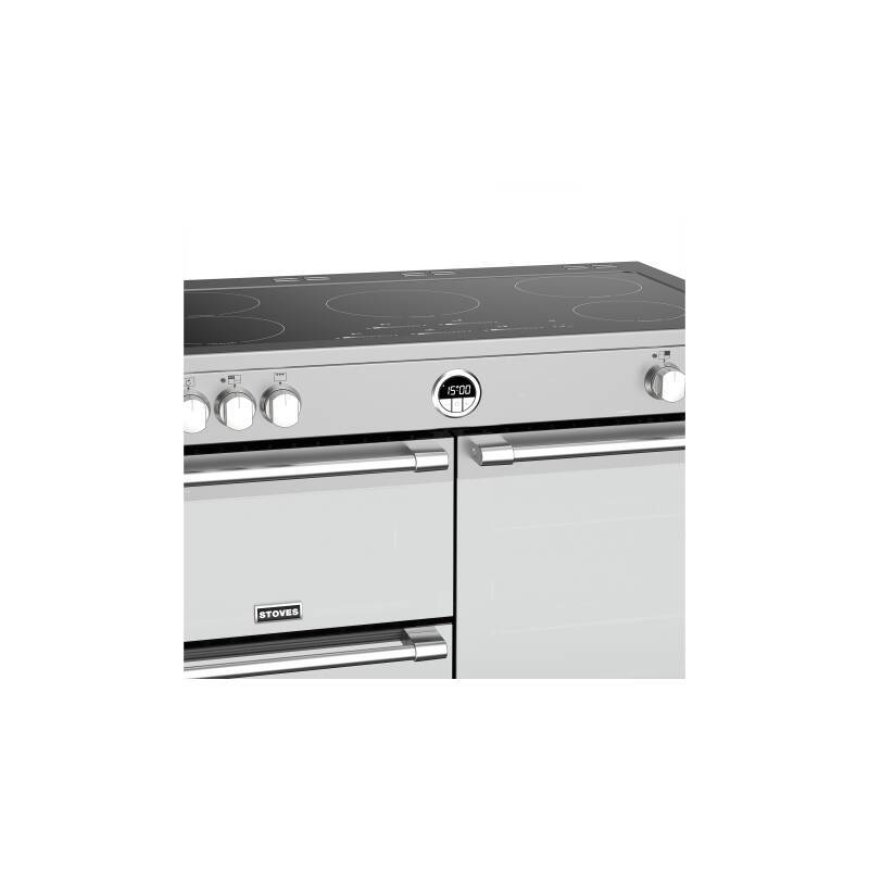 Stoves Sterling Deluxe 100cm Electric Induction Range Cooker - Stainless Steel additional image 3