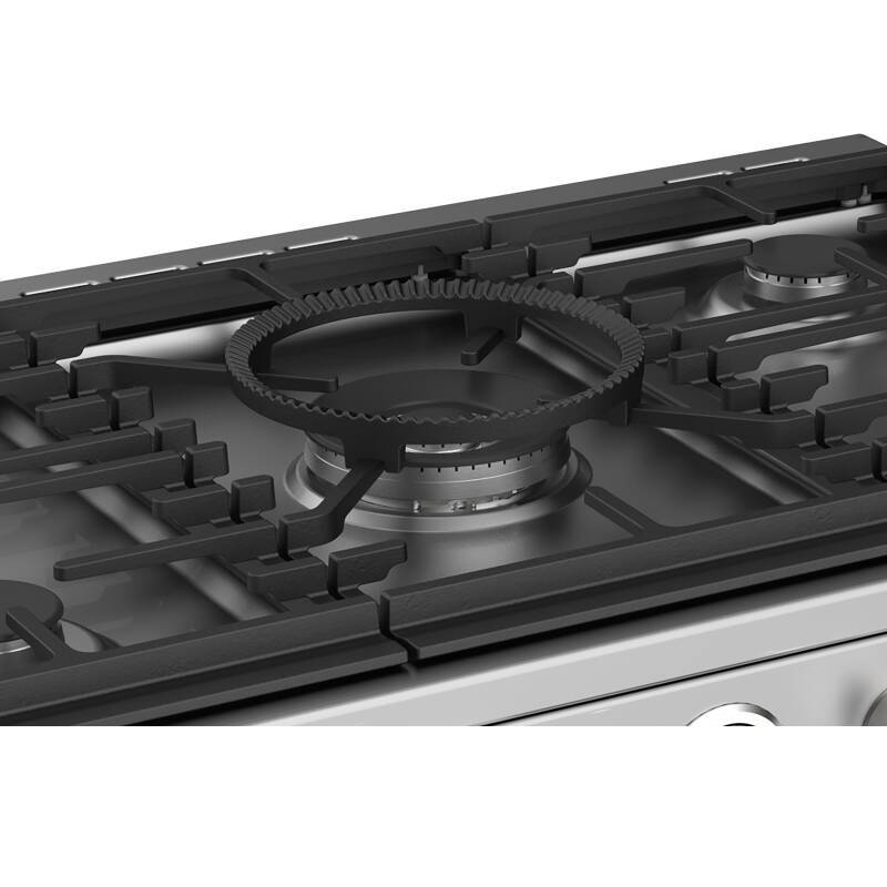 Stoves Sterling Deluxe 110cm Dual Fuel Range Cooker - Stainless Steel additional image 3