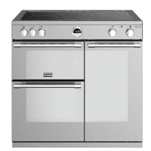 Stoves Sterling Deluxe 90cm Electric Induction Range Cooker