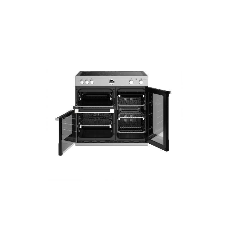 Stoves Sterling Deluxe 90cm Electric Induction Range Cooker - Stainless Steel additional image 3