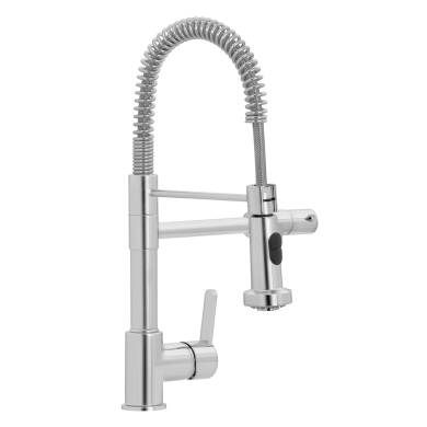 Theia Tap Brushed Nickel - High Pressure Only