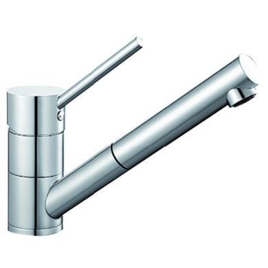 Vanda Pull Out Tap Chrome - High Pressure Only