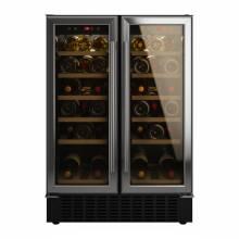 Viceroy H870xW595xD568 Under Counter 2 Door Wine Cooler